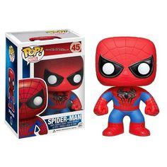 Funko Pop Marvel Series Amazing Spider Man 2 Spiderman Vinyl Figure Toy New Funko Pop Marvel, Ms Marvel, Spiderman Pop Vinyl, Marvel Pop Vinyl, Spiderman Movie, Spiderman Marvel, Avengers Comics, Figurines D'action, Spider Man 2