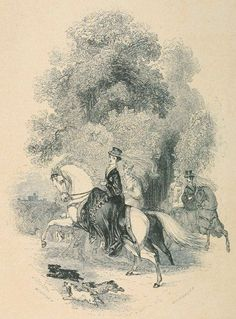 Hints To Lady Equestrians, Godey's Lady's Book, March 1862 | In the Swan's Shadow