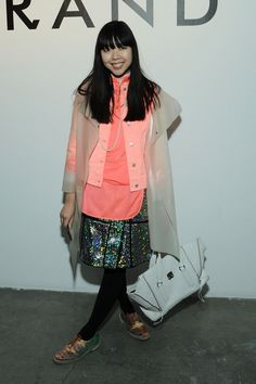 Fashion by Getty Images, Famous blogger Susie Bubble attends the J Brand...