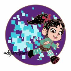 Vanellope Von Schweetz, Wreck It Ralph, Something To Do, Character Design, Daughter, Invitations, Drawings, Happy, Anime