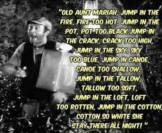 Ernest T Bass Serenade Barney Fife, Barney & Friends, The Andy Griffith Show, Classic Comedies, Old Shows, I Love To Laugh, Classic Tv, Man Humor, Best Tv