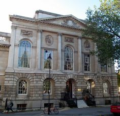 """Pinned from """"Ornamental Passions,"""" which includes a nice description. Old Middlesex Sessions House, Clerkenwell Green EC1, London. The Grade II building was built in 1779 by Thomas Rogers with sculpture by Thomas Nollekens."""