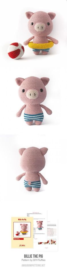 Billie the Pig amigurumi pattern