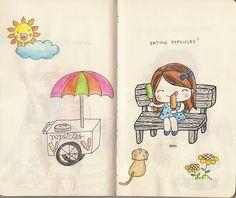 illustrations par phi: the sketchbook project #5