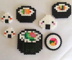 Sushiiiiii #hama #sushi #japan #hamabeads #art