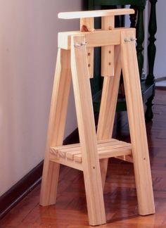 cavaletes de madeira para mesa - Google Search