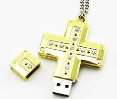 Cross Shaped Usb Flash Drive