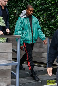 Kanye West in the adidas Climacool 1