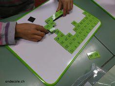 ondecole.ch - 15 minutes de maths par jour... nouveaux ateliers Plastic Cutting Board, Math Workshop, Baby Newborn