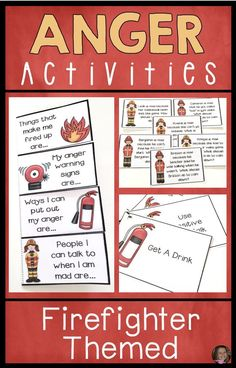 These anger management activities will help your kids learn to identify anger, recognize triggers, and develop healthy, positive coping skills. Anger Management Activities For Kids, Coping Skills Activities, Emotions Activities, Counseling Activities, Therapy Activities, Group Counseling, Group Activities, Elementary School Counseling, School Counselor