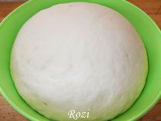 Rozi Erdélyi konyhája: Egyszerű kelt tészta Pasta Recipes, Bread Recipes, Cake Recipes, Hungarian Recipes, Ciabatta, Sweet Life, Bread Baking, Nutella, Bakery