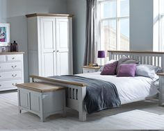 Grey and White Bedroom Furniture. Grey and White Bedroom Furniture. J&m Furniture Porto Platform Bedroom Set In Light Grey and Wenge White Bedroom Furniture Girl, Painting Wood Furniture White, Grey Bedroom Paint, Wooden Bedroom, White Furniture, Furniture Ideas, Mirrored Bedroom, White Bedrooms, Furniture Storage