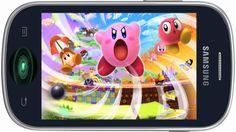 Fajny dzwonek na telefon komórkowy - Kirby Triple Deluxe Sun, Sky, Dream...