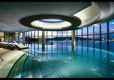 The Five-Star Altira Macau's #pool has views of the city skyline, plus underwater music and an outdoor terrace