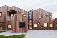 Kinderheim in Dänemark von CEBRA / Zuhause unterm Satteldach - Architektur und Architekten - News / Meldungen / Nachrichten - BauNetz.de