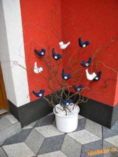 Jarní dekorace ptáčci