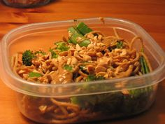 Feeding a Vegan: Ellie Krieger's Aromatic Noodles with Lime-Peanut Sauce