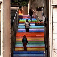 arte urbano escaleras 3
