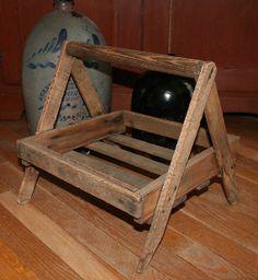 Vintage Berry Basket Carrier