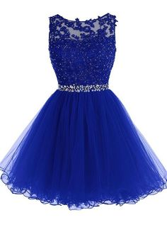 online shopping for Tideclothes ALAGIRLS Short Beaded Prom Dress Tulle Applique Homecoming Dress from top store. See new offer for Tideclothes ALAGIRLS Short Beaded Prom Dress Tulle Applique Homecoming Dress Royal Blue Prom Dresses, Lace Homecoming Dresses, Beaded Prom Dress, Lace Evening Dresses, Dress Lace, Lace Bodice, Tulle Lace, Tulle Dress, Bridesmaid Dress