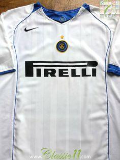 2004 05 Internazionale Away Shirt (L). Classic Football ... 0c347ca63