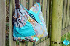 Blog Tintenelfe.- Endlich mal eine Tasche nur für mich #DIYyourCloset #handtasche #sewing #tasche #bag