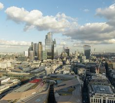 A Futuristic Rendering of London's Skyline If All Its Planned Towers Got Built - CityLab