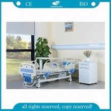 AG-BMS001C with wheels hospital patient adjustable manual medical bed
