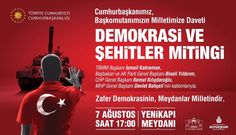 Hep birlikte Türkiye Yenikapı'da