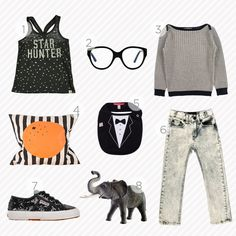 black and white: the shopping guide by www.kid-a.co.uk