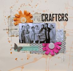 "Blossom Inch - cute ""crafternoon"" captured"