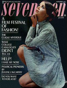Seventeen Magazine Sept 1968 Colleen Corby by AngoraSox, via Flickr