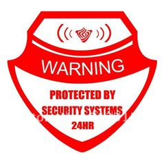 19 Best Security Systems Yard Signs Images In 2015 Home