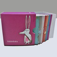 0-5 Kalandraka: Minilibros imperdibles 1  El pequeño conejo blanco La gallinita roja Chivos chivones La casa de la mosca fosca La ratita presumida Garbancito El pollito de la avellaneda