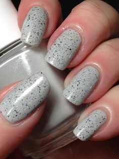 Essie Go With The Flowy topped with EvP LE Yeti The Stone Warrior
