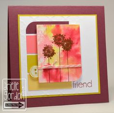 Snappy Stampin' w/ Arielle: FRIEND / CQC #154...