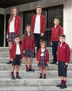 Uniformes de los alumnos colegio leones