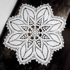 21 inch Doily White Crochet Doily White Lace Tablecloth