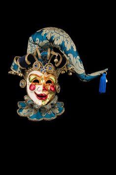 Allegro Joker Maschera Veneziana Originale Artigianale Fatta A Venezia 8d835e2c4ed3