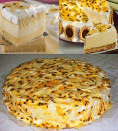 Receita de Bolo-mousse de maracujá com marshmallow - GRANIG RECEITAS