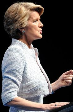 Political polish ... Julie Bishop's is Australia's most stylish politician.