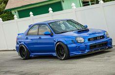 #Subaru #Impreza_WRX #Slammed #Stance #Modified