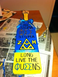 Phi Sigma Sigma - Zeta Eta! Makes me want another paddle