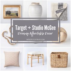 Here's my favs! Affordable Home Decor, Unique Home Decor, Studio Mcgee, Home Decor Accessories, Accessories Online, Creative Home, Home Improvement, Sweet Home, House Design