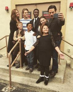 """They even take plenty of selfies when they're together on set. 