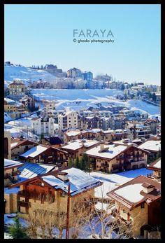 LEBANON, FARAYA ON A CLEAN DAY