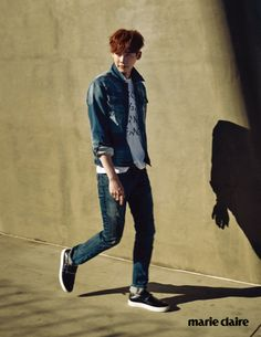 "Lee Jong Suk in ""The Journey"" for Marie Claire Korea March 2015. Photographed by Park Ji Hyuk"