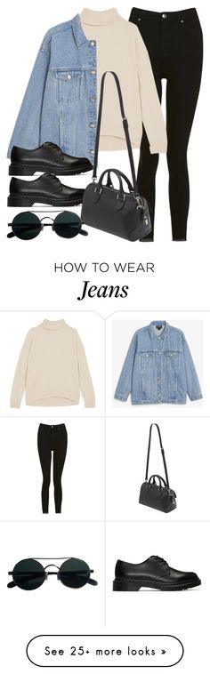 """#14180"" by vany-alvarado on Polyvore featuring Topshop, Brunello Cucinelli, Monki, Dr. Martens and Mulberry"