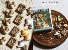 Exquisite cookies by Nunu's House for miniature dollhouse bakery.