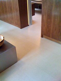 Look! White Cork Flooring | Apartment Therapy